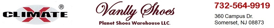 Vanlly Shoes U.S.A - Planet Shoes Warehouse: 732-564-9919; 360 Campus Dr., Somerset, NJ 08873; Largest WHOLESALE SHOES WAREHOUSE in New Jersey.